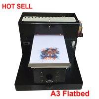 Новый A3 планшетный принтер фотопринтер A3 Печать на футболках, чехол для телефона, пластиковые карты, керамика, ручка Высокое качество модел