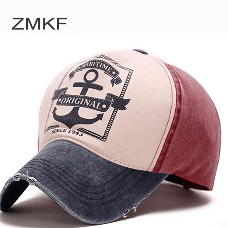 2018 ZMKF Gorras de Béisbol Snapback al por mayor Ajustable Cap - Accesorios para la ropa