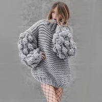 ZDFURS* Turtleneck Women Sweaters and Pullovers 2018 Winter Pink Pullover Women Long Sleeve Tops Pulover Feminino
