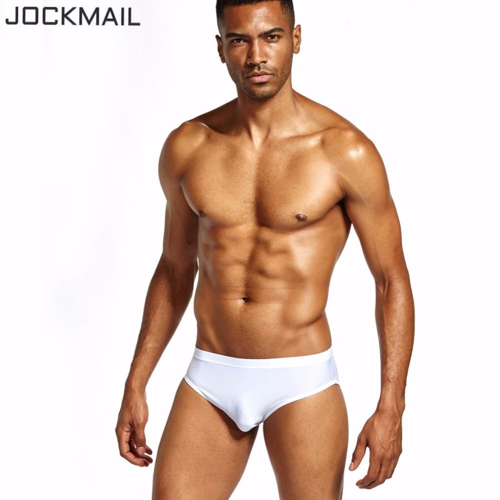 b28071dd73 JOCKMAIL Brand Sexy Transparent Men Underwear mens bikini briefs cueca Gay  Nylon Ice Silk calzoncillos hombre slip gay underwear