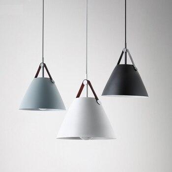 Moderna lampada a sospensione apparecchio suspendu luci per ristorante bar caffè sala da pranzo d'epoca industriale pendnant di illuminazione