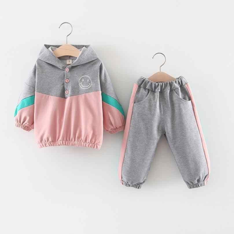 Комплект спортивной одежды для маленьких девочек; спортивная одежда для девочек; одежда для маленьких девочек; Спортивный костюм для малышей; толстовка + штаны; Спортивный костюм; наряд принцессы