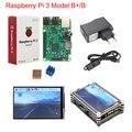Buy Raspberry Pi 3 B+ Plus Starter Kit Raspberry Pi 3 + 3.5 inch Touchscreen + 9-layer Acrylic Case + 2.5A Power Supply + Heat Sink
