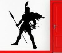 Spartan Soldier Warrior Military Decor Wall Stickers Vinyl Decal