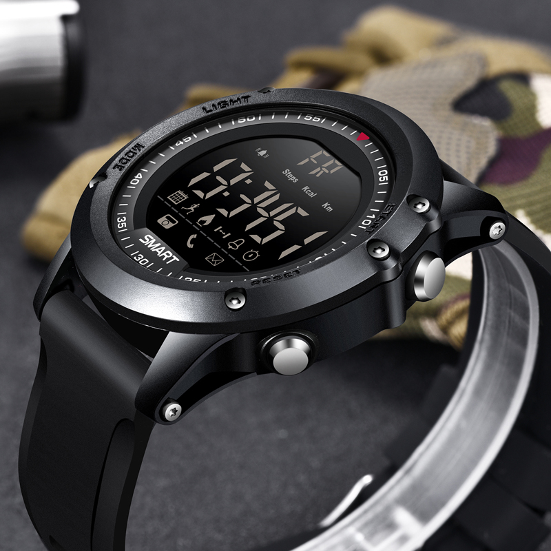 BANGWEI Outdoor Sports Digital Electronic Wrist Watch Men Bluetooth Pedometer Stopwatch IP68 Waterproof Chronograph Smart Watch braun chronograph sports watch