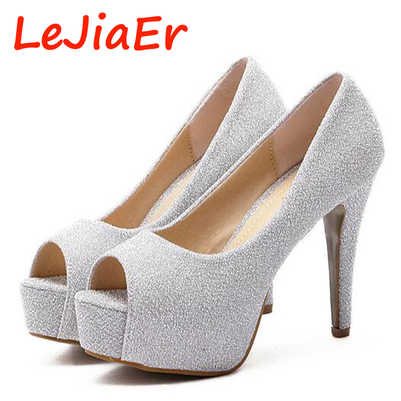 Online Get Cheap Silver Platform Heels -Aliexpress.com  Alibaba Group