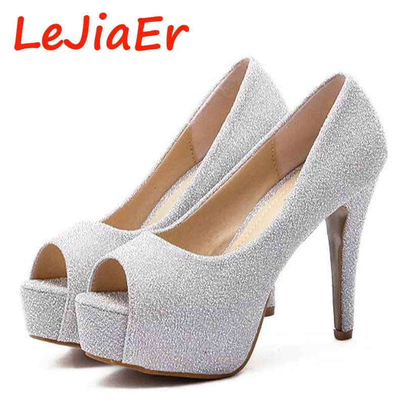 Silver Platform Heels Cheap