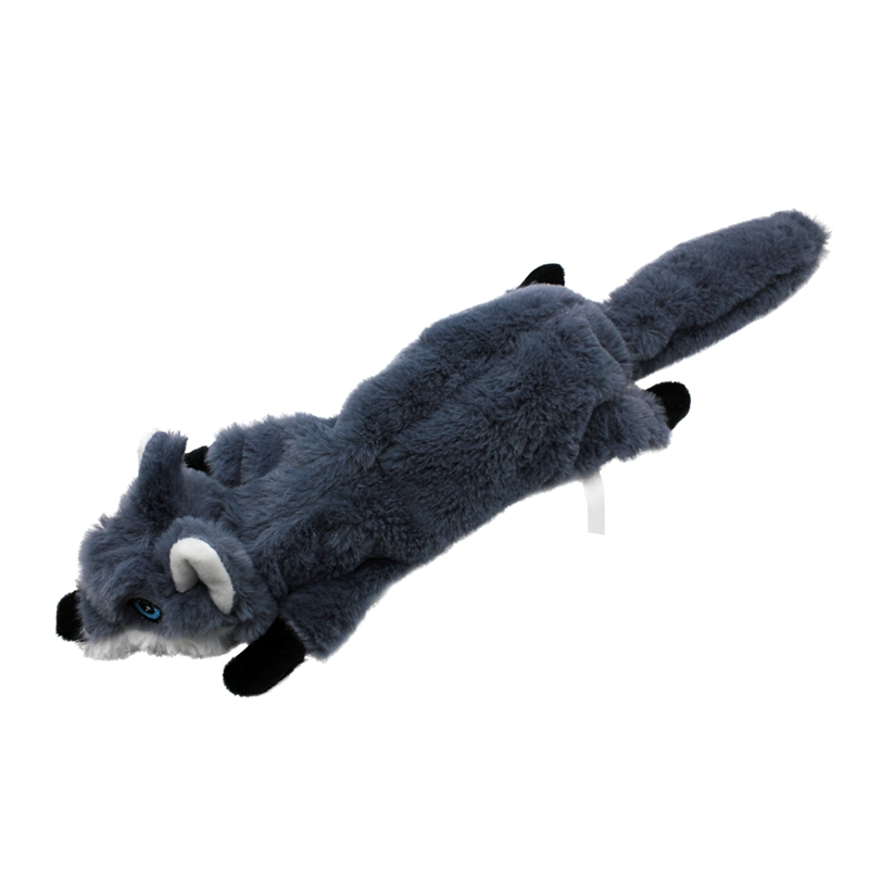 Cute Plush Toys Squeak For Dogs Chew Squeaker Pet Squeaky Animal Shaped Toy Squirrel  Dog Cat Toy Pet Supplies 8