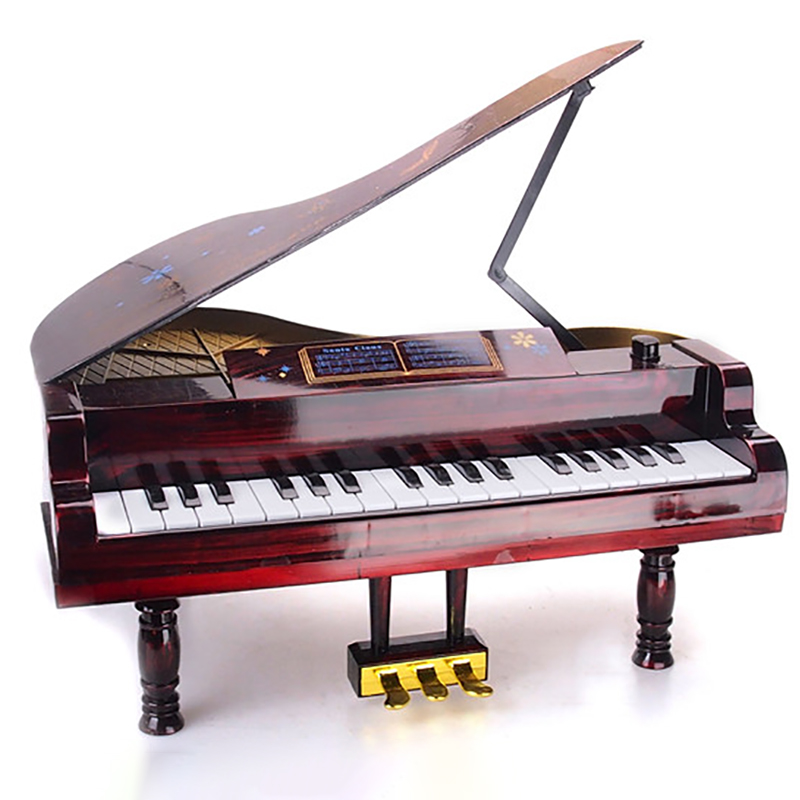 1/6 Scale PIANO Red +Transparent piano stool/bench Set Model Fit 12 Inch dolls scene furniture Action Toys Figure accessories 2pcs 1 6 scale dragon dml toys wwii gray soldier forward hat cap model toy dolls military fit 12 inch action figure accessories