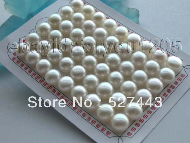 Wholesale free shipping >>luster Wholesale 27pairs Genuine Natural 11mm white Pearl Earrings