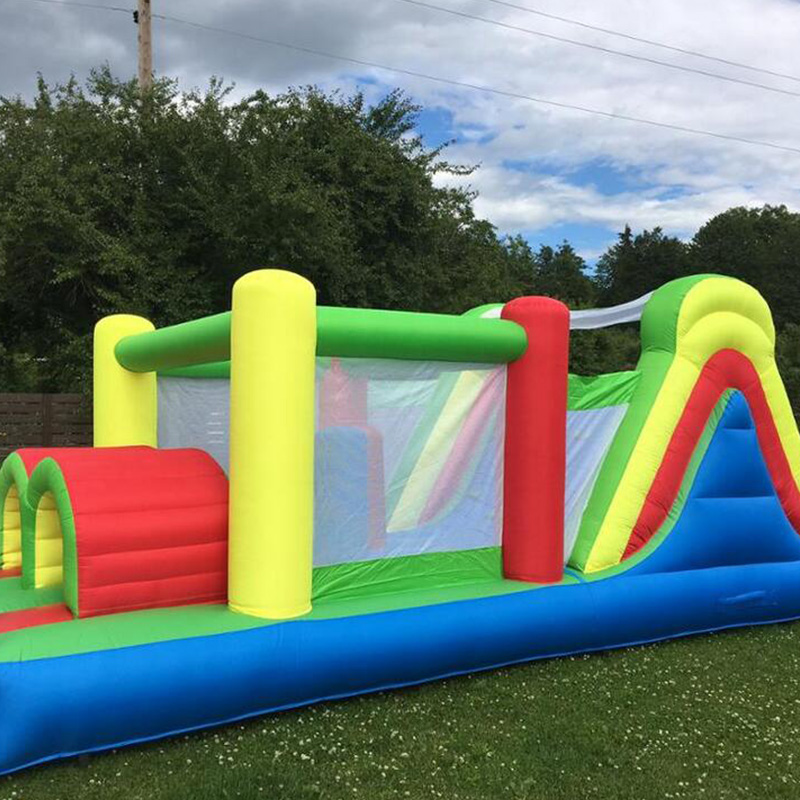 Hot Selling Children Bouncer Bounce House Inflatable Jumping Castle Jumpers Bouncy Castle Game with Obstacle Course for Sale jumpers inflatable