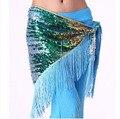 Костюмы Belly dance старший бархат 248 серебряных монет танец живота пояса для женщин танец живота хип шарф