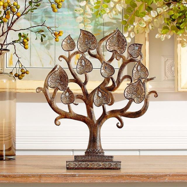 I Home Furnishing Resin Decoration Art Bodhi Tree Study The Living Room Entrance Feng Shui Bedroom