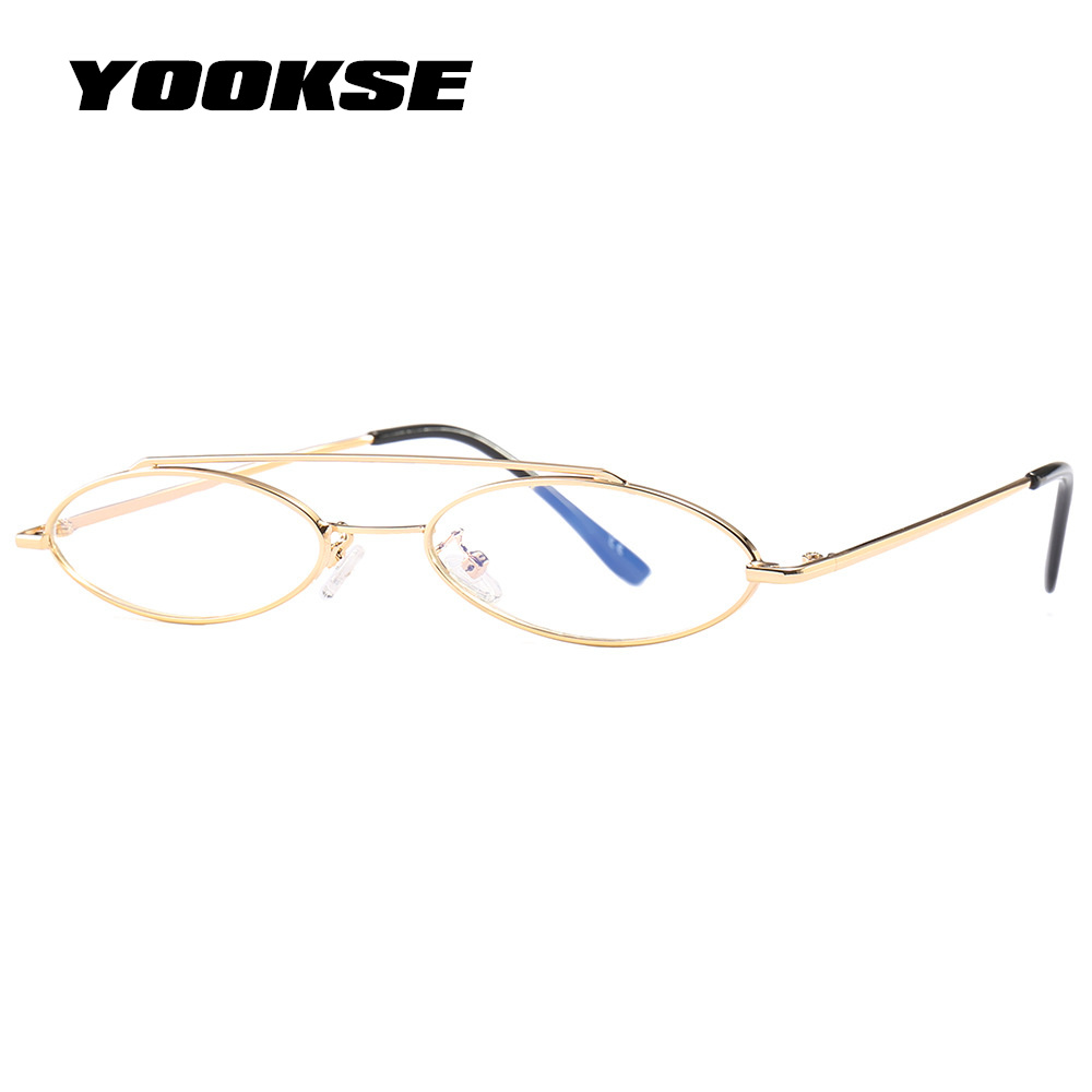 5fbcb7788c0 YOOSKE Sexy Ladies Cat Eye Sunglasses 2018 Women Vintage Brand Small Round  Sun Glasses Female Double beam Oval ...