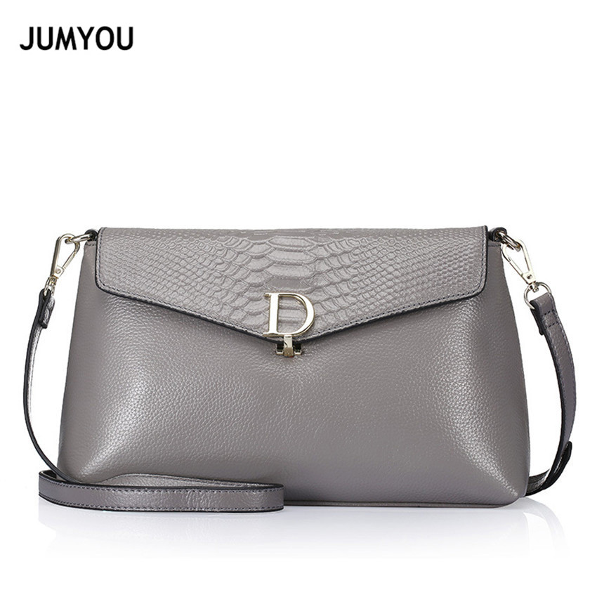 Genuine Leather Messenger Bags For Women Shoulder Bags For Female Fashion Gray Two Shoulder Straps Small Soft Bolso Mujer GrandeGenuine Leather Messenger Bags For Women Shoulder Bags For Female Fashion Gray Two Shoulder Straps Small Soft Bolso Mujer Grande