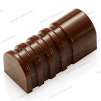 37x16x16mm 30cups 3D Chocolate Clear Polycarbonate Plastic Mold DIY Handmade Chocolate PC Mold Chocolate Tools High