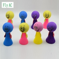 50pcs/lot Antistress Fun Toys Jump Bounce Elf Colorful Fly Children Creative Toy Gift Funny Gadgets