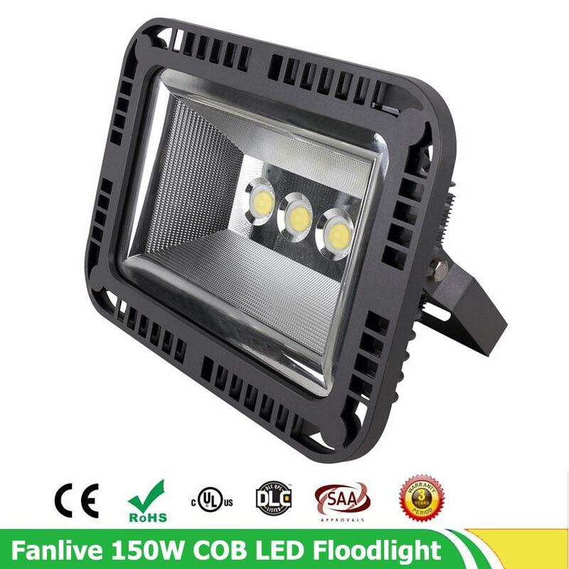 3pcs/lot 100W 150W 200W LED Flood Light Outdoor Led Flood Lamp 3 Years  Warranty,IP65 Waterproof LED Spotlight AC 85 265V In Floodlights From Lights  ...