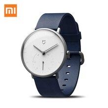 Xiaomi reloj inteligente Mijia Mi de cuarzo, reloj inteligente deportivo resistente al agua hasta 3ATM, doble esfera, alarma de vibración, Sensor de podómetro