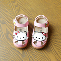 Niños Zapatos de La Princesa Sandalias de Las Muchachas 2017 Nuevo Diseño de la Historieta Del Verano Muchachas de La Manera Zapatos de Los Niños Zapatos Lindos de Verano Sandalias EU26-30