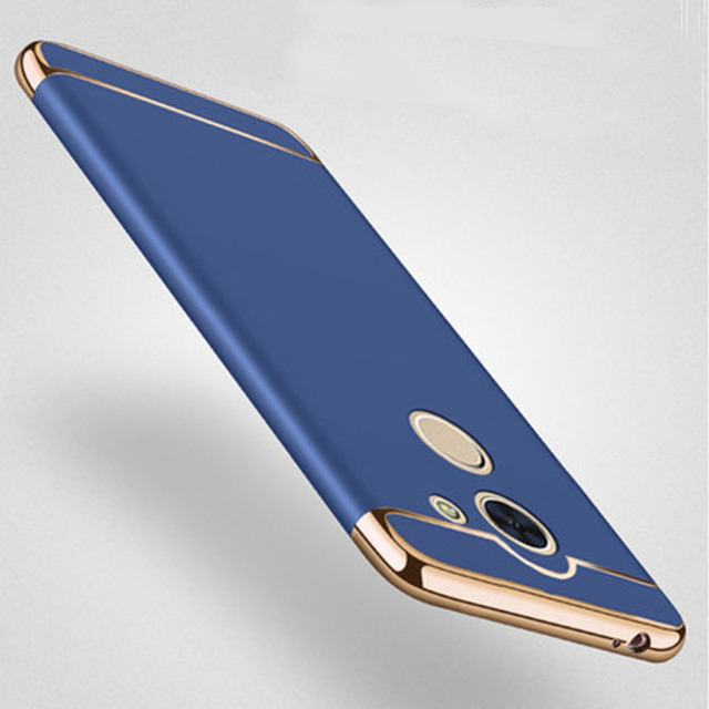 sale retailer 0fac0 23bf0 US $2.56 |7Plus Luxury Armor Case For Huawei Y7 Prime Case 360 Full Matte  Hard Slim Back Cover For Huawei Enjoy 7 Plus Phone Cases Coque-in Fitted ...