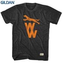 071c61d07e9 GILDAN Short Sleeves Cotton Fashion T Shirt Free Shipping Wolverhampton  Wolves Vintage Crest T-shirt