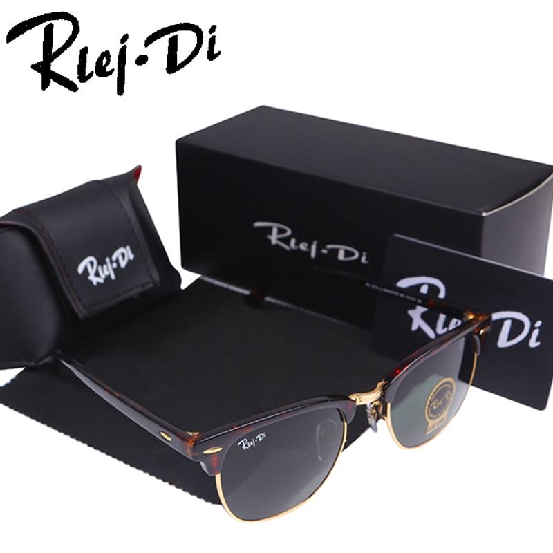 Half Metal Sunglasses Men Brand Designer Sunglasses