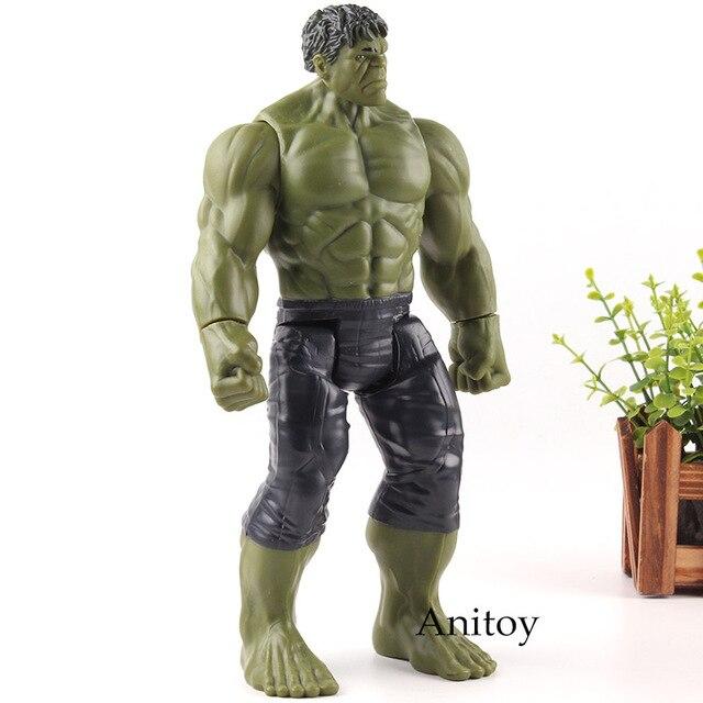 Infinito Guerra Maravilha Titan hero Series Super hero Avengers Hulk Figura de Ação Brinquedos PVC Modelo Coleção Toy