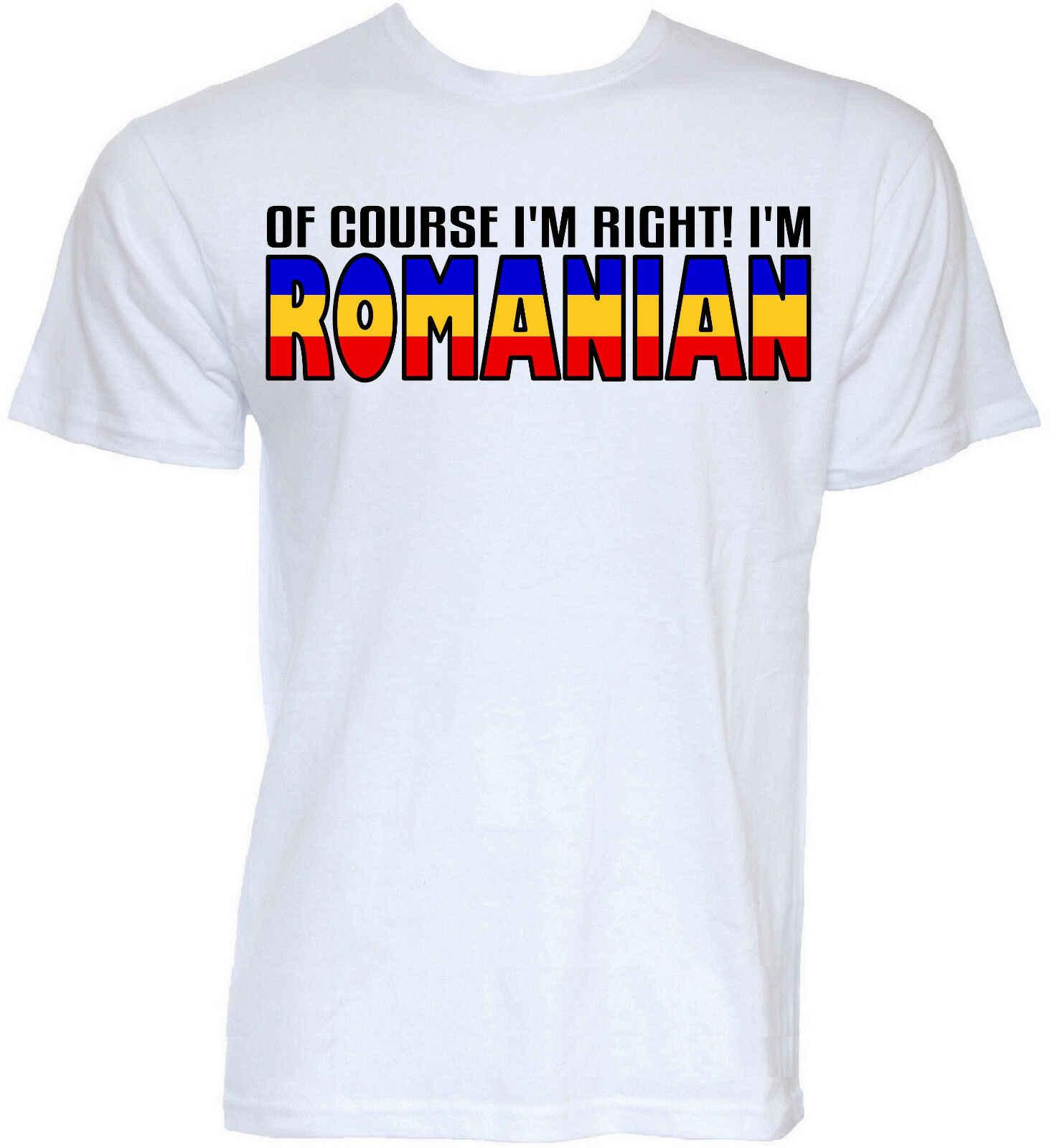 Футболки для девочек, мужские забавные, классные, новинка, Флаг Румынии грубая шутка, подарки, футболка
