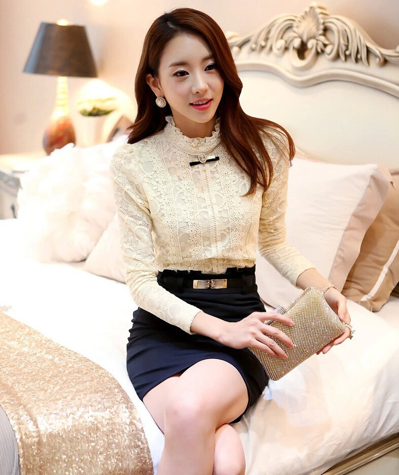 HTB1J0PzGVXXXXciaXXXq6xXFXXXj - Hot Women Fleece Crochet Lace Blouse-Hot Women Fleece Crochet Lace Blouse