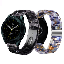 20mm Resin watch strap for samsung galaxy watch active 2 S2 classic galaxy 42mm band amazfit GTR 42mm amazfit bip bracelet