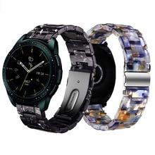 20mm resina pulseira de relógio para samsung galaxy assistir ativo 2 s2 clássico galaxy 42mm banda amazfit gtr 42mm amazfit bip pulseira