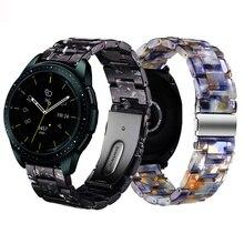 Correa de resina para samsung galaxy watch active 2, S2, Banda Clásica de 42mm, pulsera amazfit GTR de 42mm