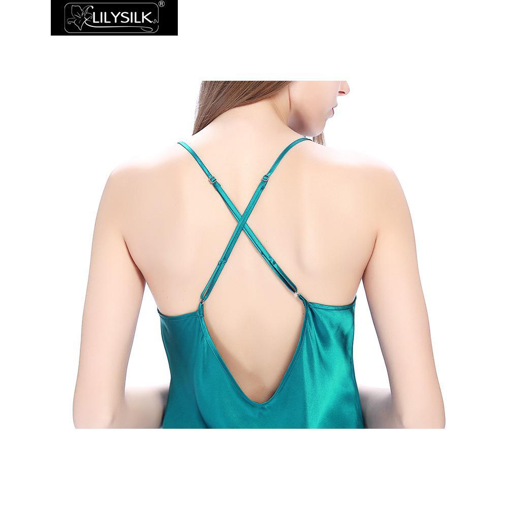 dark-teal-22-momme-crossed-back-silk-nightgown-06