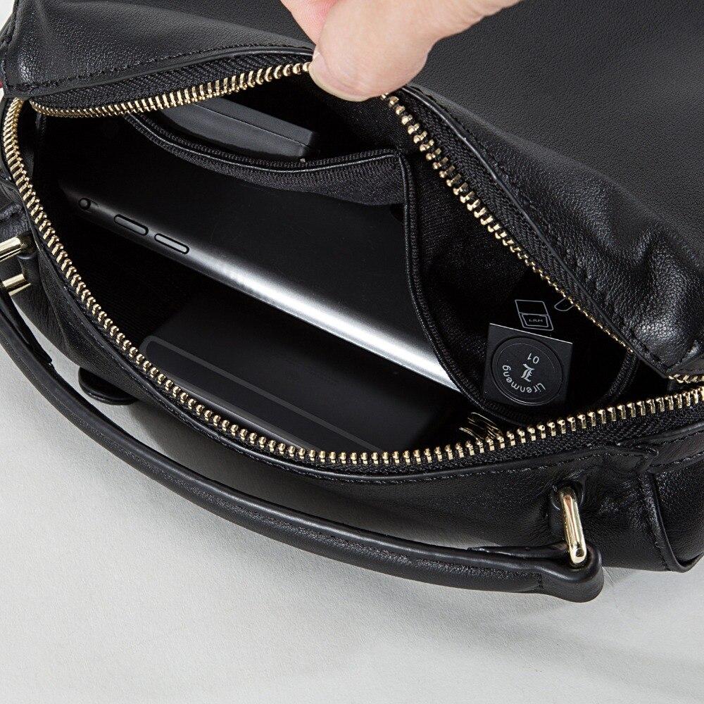 Drapé Et Main Femmes Sensation Une Portefeuille Mode Sac Femelle En À Cuir De Bandoulière Black Sacs Épaule 6wqOBB