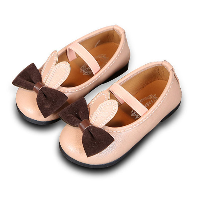 COZULMA Baby Girl PU Leather Casual Shoes