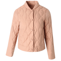 lady jacket winter coats white duck down short parkas white eiderdown down jacket women short coat warm down nude pink big sizes