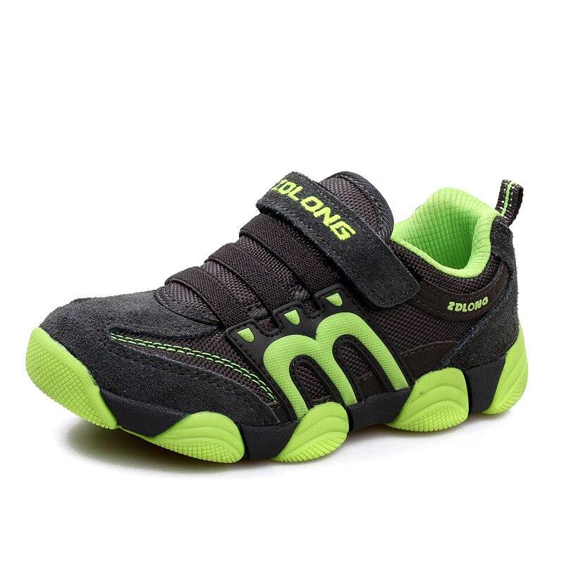 Детская обувь, обувь для мальчиков, Повседневные детские кроссовки, кожаные спортивные модные детские кроссовки для мальчиков, новинка 2019, ...