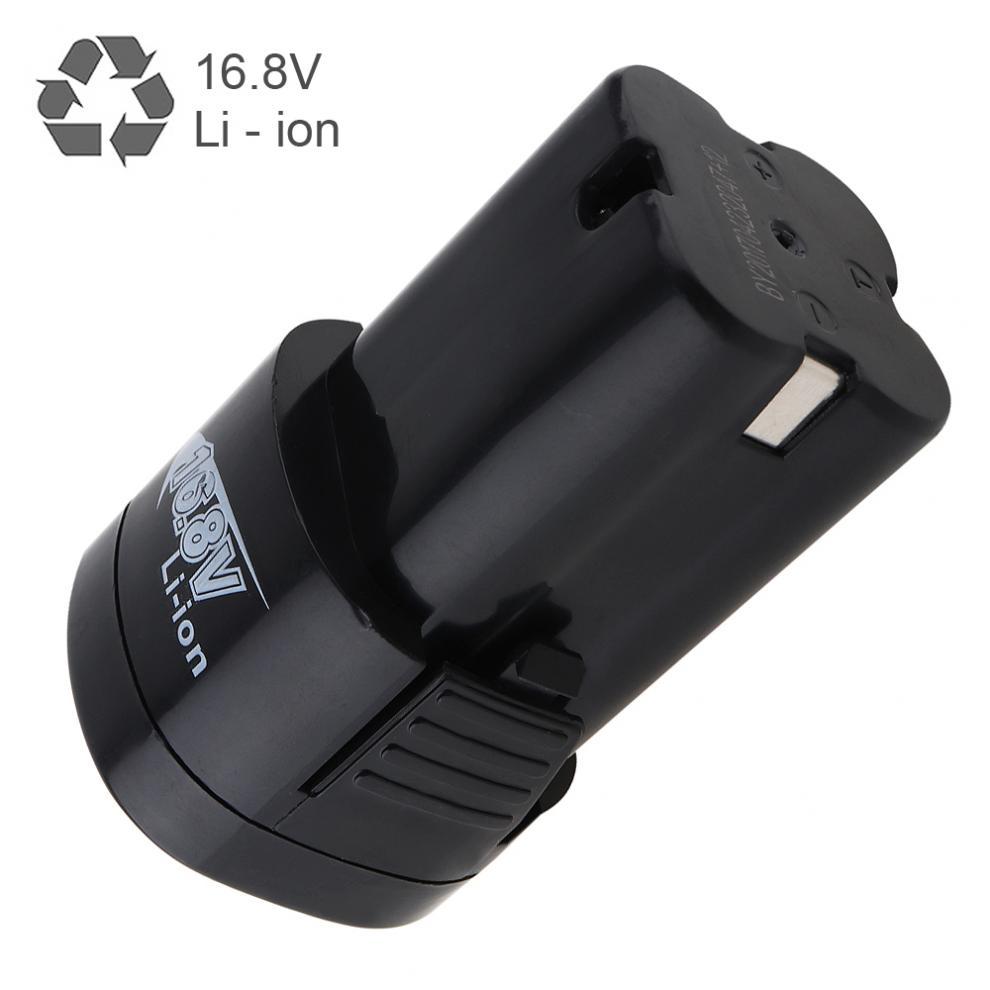 16.8 v 2000 mah Li-ion Rechargeable Batterie avec Bouton de Déconnexion pour Perceuse Électrique/Pistolet Perceuse/Tournevis Électrique