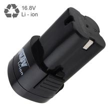 16.8V 2000mAh Li-ion Rechargeable Battery with Disconnect Button for Electric Drill / Pistol Drill / Electric Screwdriver
