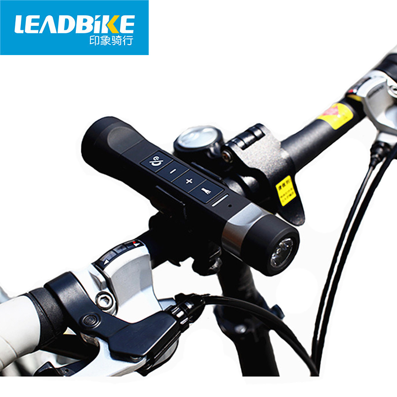 factory direct leadbike bluetooth flashlight for bike led front light black bycicle lamp headlight lanterna bicycle accessories