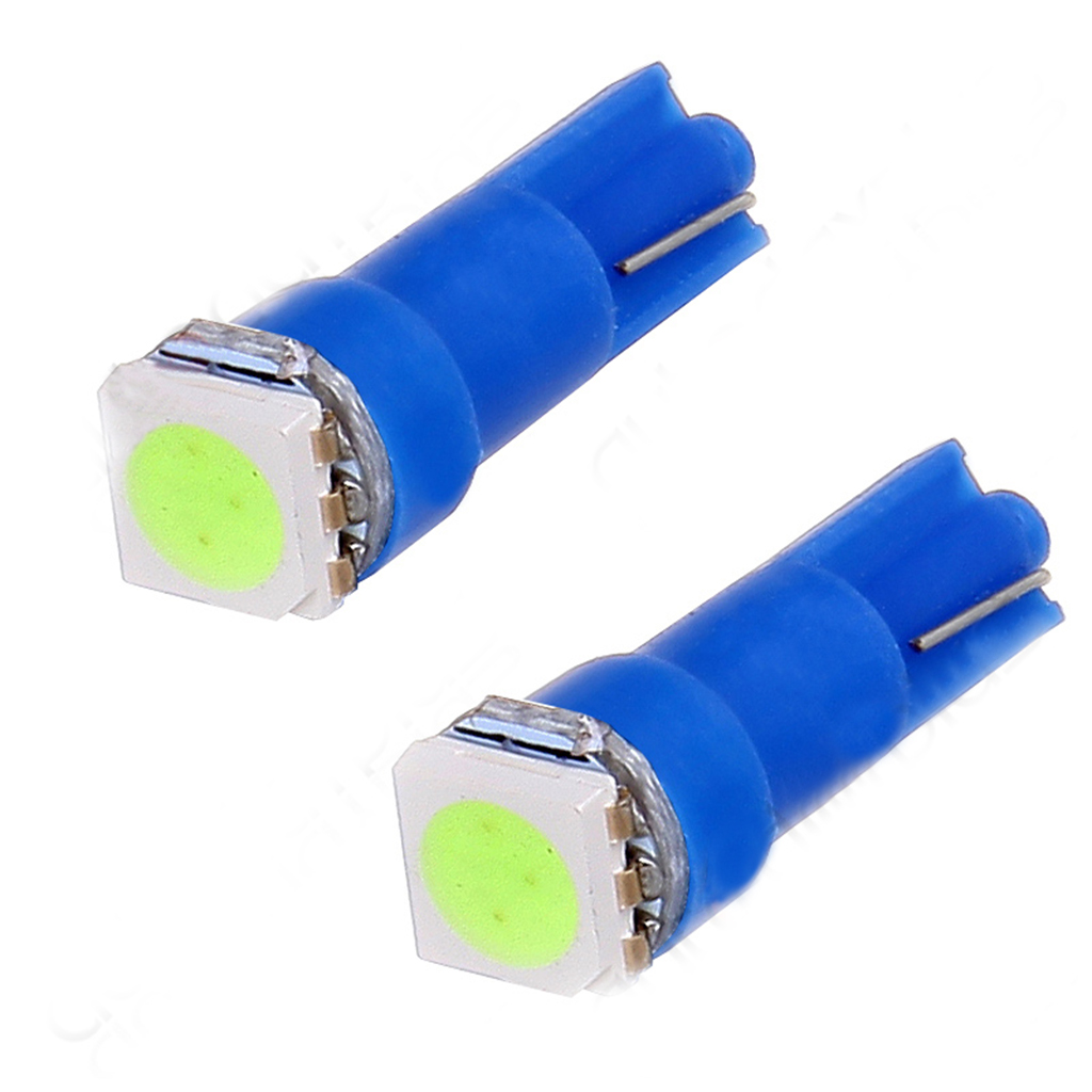 20x T5 5050 1-SMD LED Automotive Car Lights Bulb Dashboards Indicator Bulbs Car Accessories