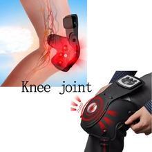 2016 de Alta Qualidade Portátil Massageador Infravermelho Fisioterapia Joelhos Auto Joelheira Cuidados de Saúde Transporte da gota