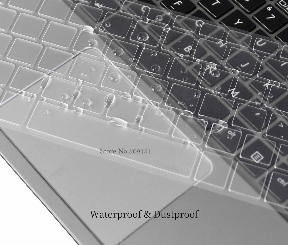 2017 2 Pcs Google Pixelbook Keyboard Cover Skin 12.3 Inch With Touch-Screen