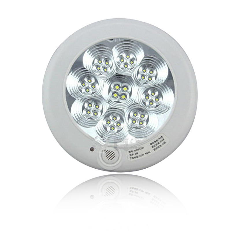 Led Ceiling Lights With Sensor: LED Ceiling Light Lighting 5W 7W 11W PIR Infrared Motion Sensor Flush Mounted Sound Light Sensor