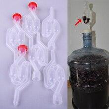 3 шт. пузырьки брожения Воздушные Замки ловушки и булочки для домашнего пивоварения вина домашнего пивоварения, пивной сидер для изготовления пузырьков Demijohn