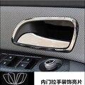 Нержавеющая сталь внутренняя дверная ручка чаша крышка украшение кольцо отделка авто аксессуары 4 шт для Chevrolet cruze 09-14