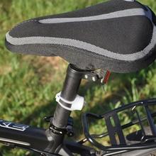 2016 Cycling Bike SaddleBicycle MTB Memory Foam Comfortable Seat Saddle Cover Cushion Pad free shipping