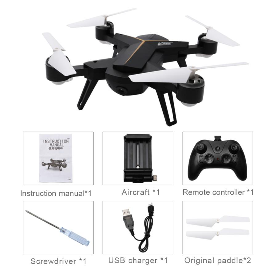 2.4G RC Drone Quadcopters Headless Mode One Key Return RC Helicopter Collapsible Wifi Real-time Transmission with camera