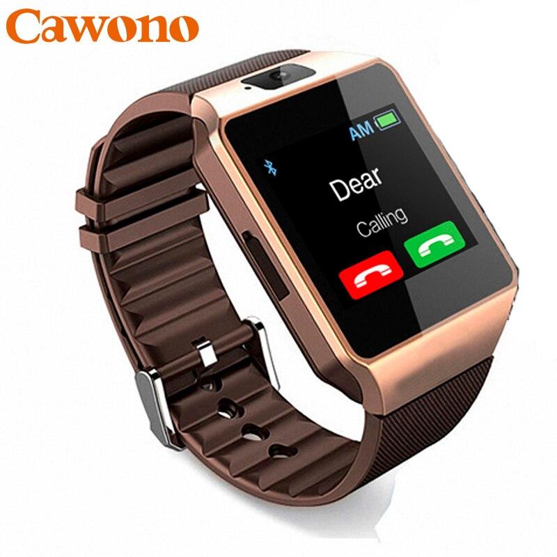 Cawono умные часы для детей смарт часы детские DZ09 SmartWatch Bluetooth <font><b>smart</b></font> <font><b>watch</b></font> умные часы смарт часы мужские детские часы телефон Смотреть <font><b>Android</b></font> телефонный&#8230;
